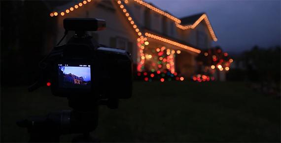 Christmas Light Photography