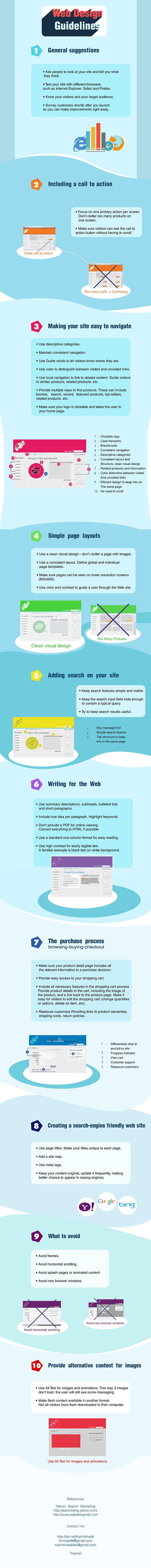 Web Design Guidlines