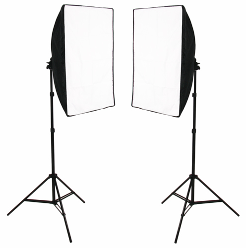 Pair of SimplyFoto Lites 5070 with covers