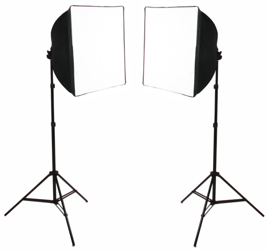 Pair of SimplyFoto Lites 50 with covers