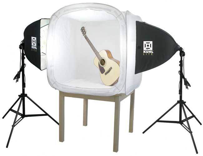 KuhlLite kit with Guitar