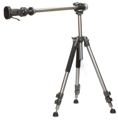 Horizontal Tripod Rigid Fixed Arm with Pistol Grip