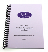 The Little Product Photography Log Book