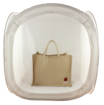 SimplyFoto Cube 75 containing Bag