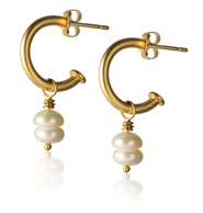 Pair of Earrings Photo With Invisible Thread Removed