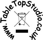 Tabletop Studio Recycling Logo