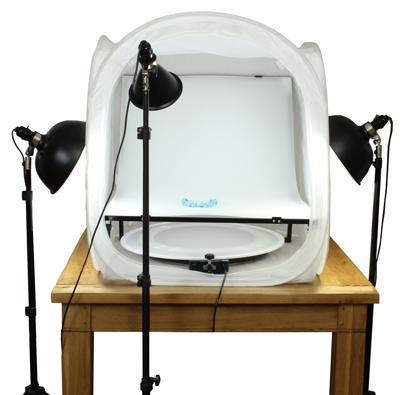 Ultimate Jewellery Kit 30 with Illuminated Shooting Table